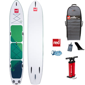 "Red Paddle Co VOYAGER TANDEM 15'0""x34"" Inflatable Stand Up Paddle Board 2020"