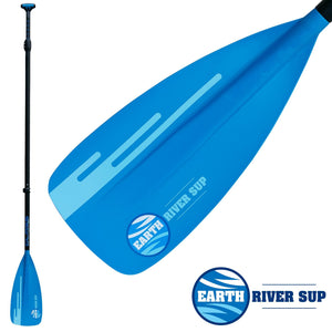 EARTH RIVER SUP FIBERGLASS NRF SUP PADDLE - 2|3 PIECE OPTIONS