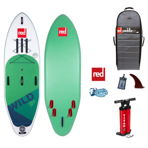 "Red Paddle Co WILD 9'6""x34"" Inflatable Stand Up Paddle Board 2020"
