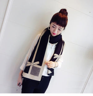 High-quality Pashmina Bow Scarf Shawl Wraps