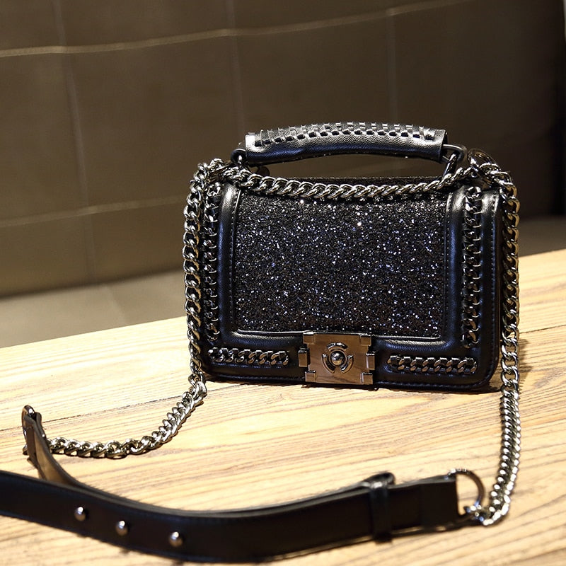 2021 Fashion Sequin Boy Crossbody Bag