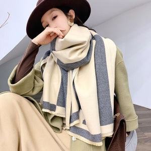 2020 New Luxury Pashmina Brand Blanket Shawls Wraps Scarf