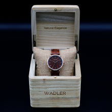 Load image into Gallery viewer, WADLER Elegance Women Watch displaying its box front view