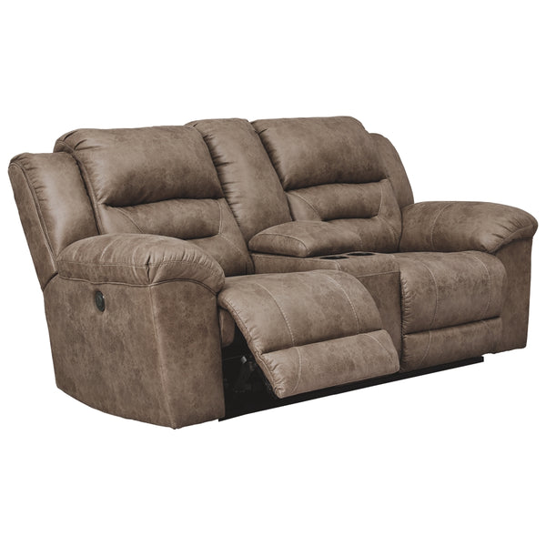 Stoneland Reclining Power Loveseat