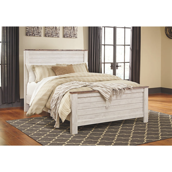 Willowton Queen Panel Bed Frame