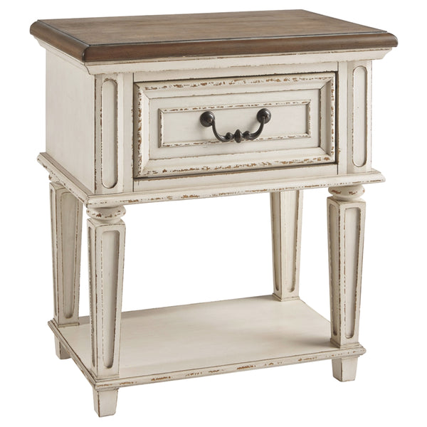 Realyn One Drawer Nightstand