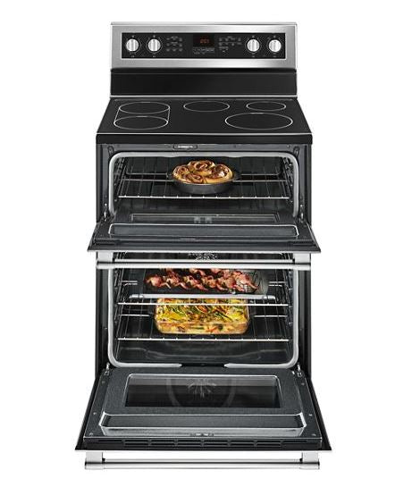 30-Inch Wide Double Oven Electric Range With True Convection