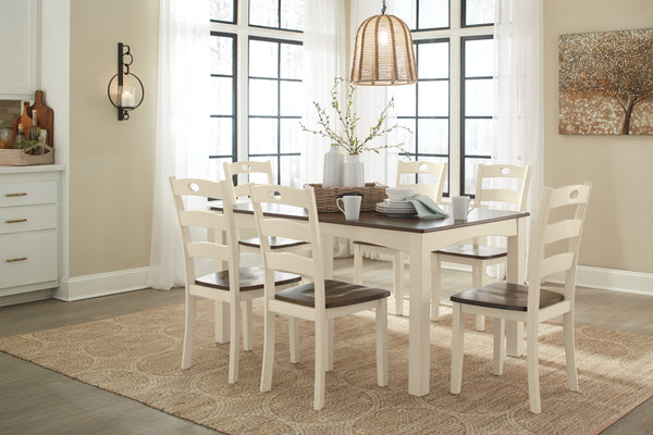 Woodanville Dining Room Table Set