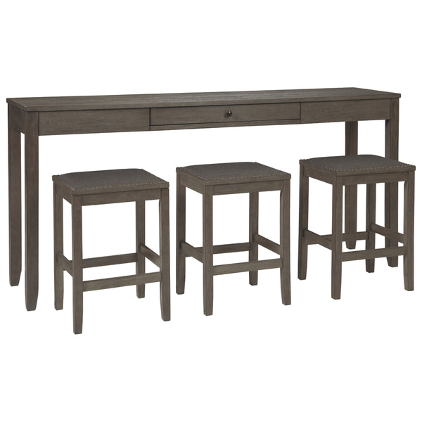 Caitbrook Dining Room Counter Table Set