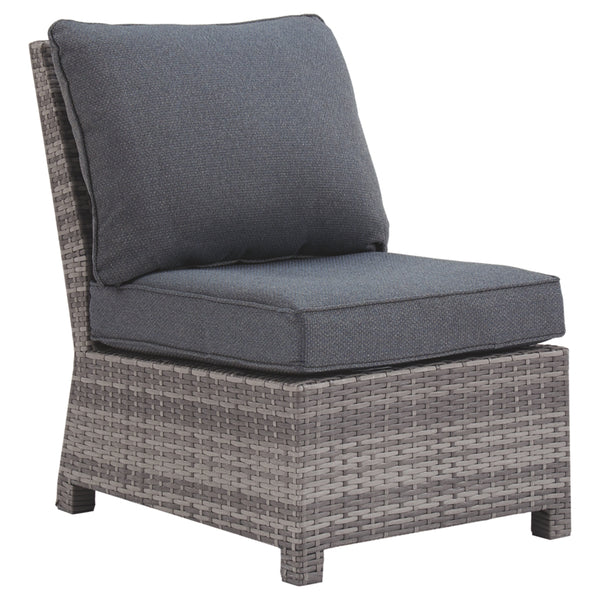 Salem Beach Armless Chair w/Cushion