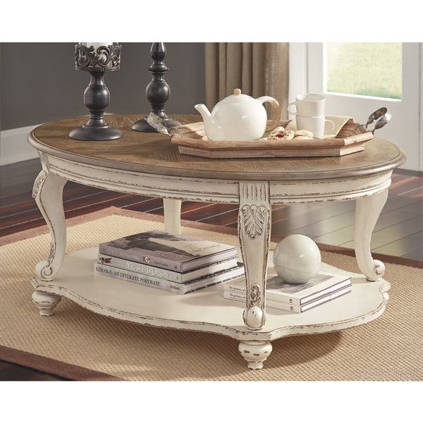Realyn Oval Coffee Table