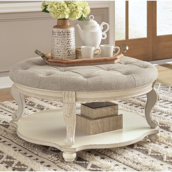 Realyn Ottoman Coffee Table