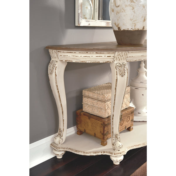 Realyn Sofa Table