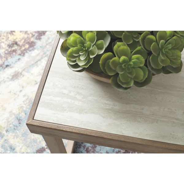 Challene Square End Table