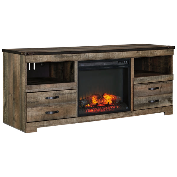 Trinell TV Stand w/Fireplace Option