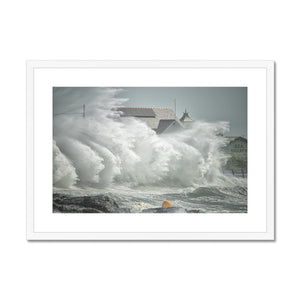 Stormy conditions at Trearddur Bay