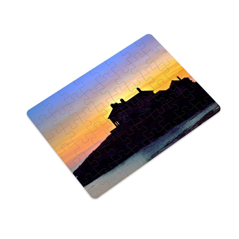 48 Piece Jigsaw Craig-y-mor Sunset, September