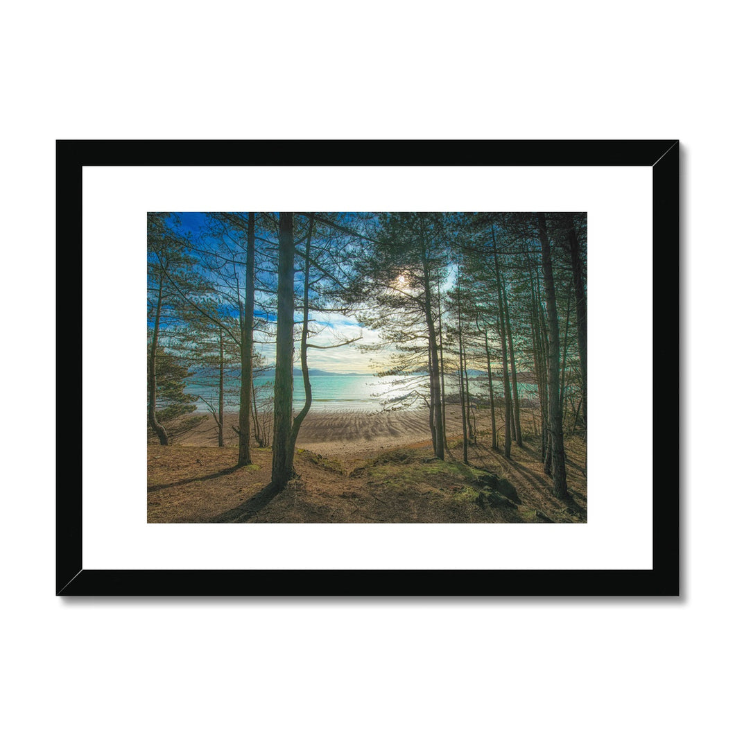Llanddwyn beach I Framed & Mounted Print