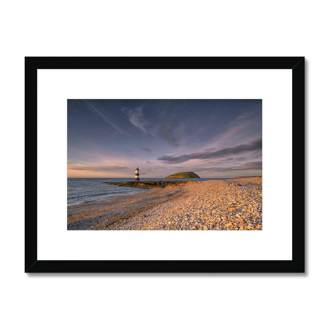 Penmon lighthouse Framed & Mounted Print