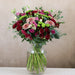 Ruby Red Roses & Lisianthus Bouquet