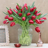 Tulipes rouges d'amour