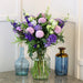 Lisianthus & Chrysanthemum Blue Bouquet