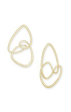 Kendra Scott Myles Statement Earring In Gold