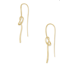 Myles Threader Earring in Gold