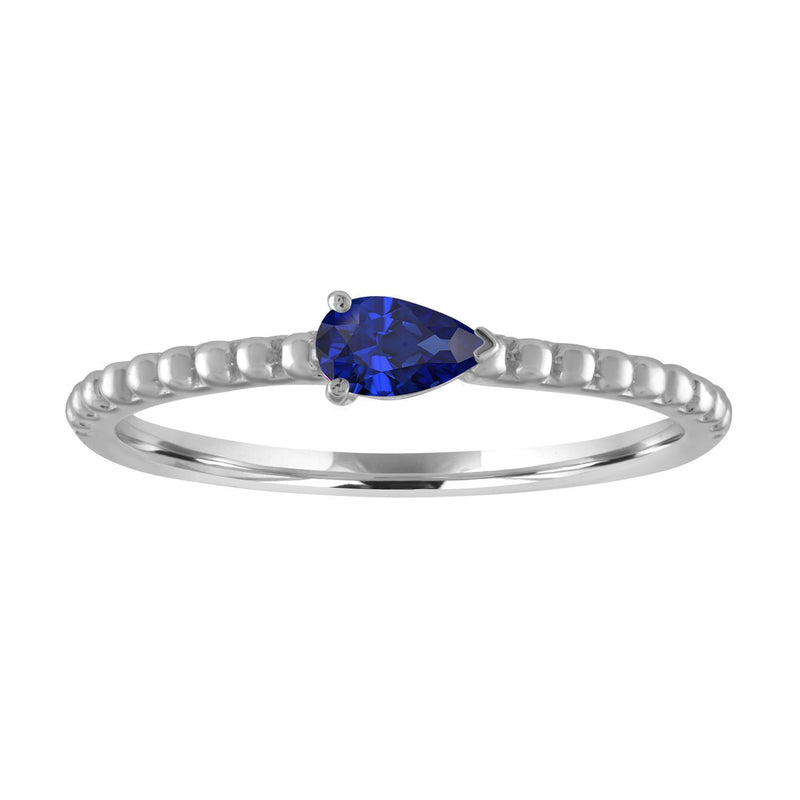 My Story The Posie Ring in Sapphire 14K White