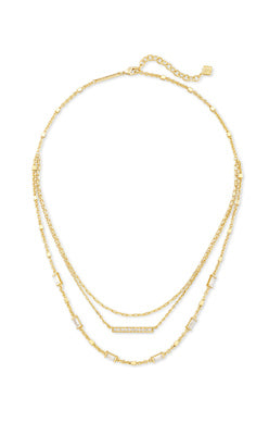 Kendra Scott Addison Multi Strand Necklace