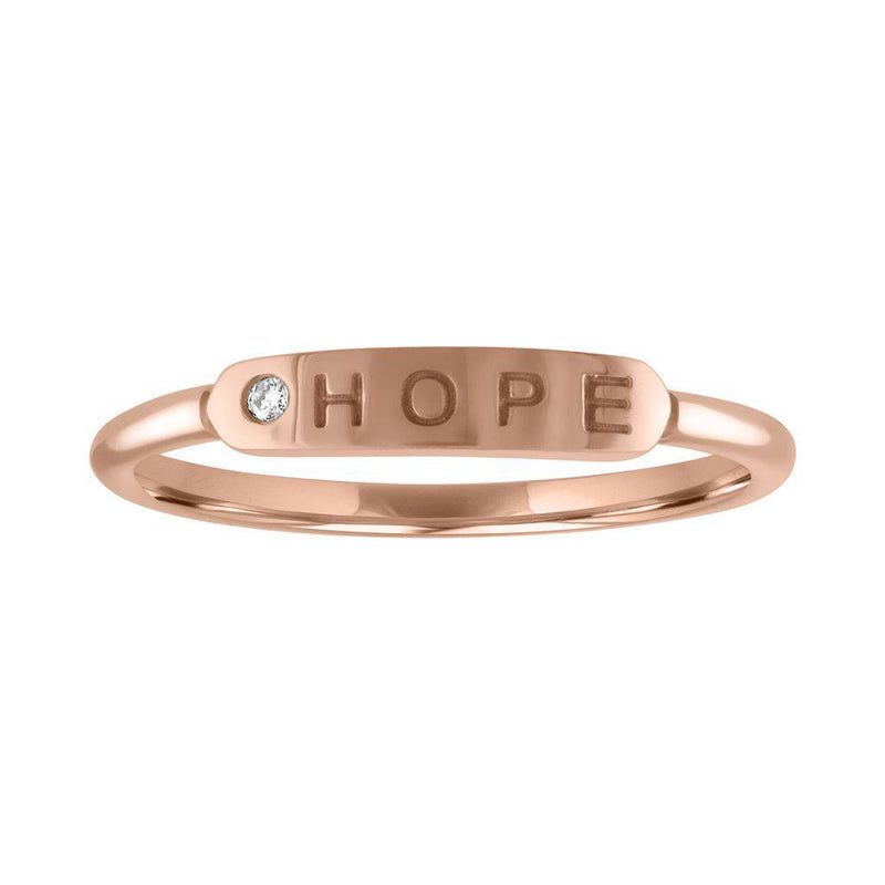 "My Story The Twiggy ""Hope"" Ring"