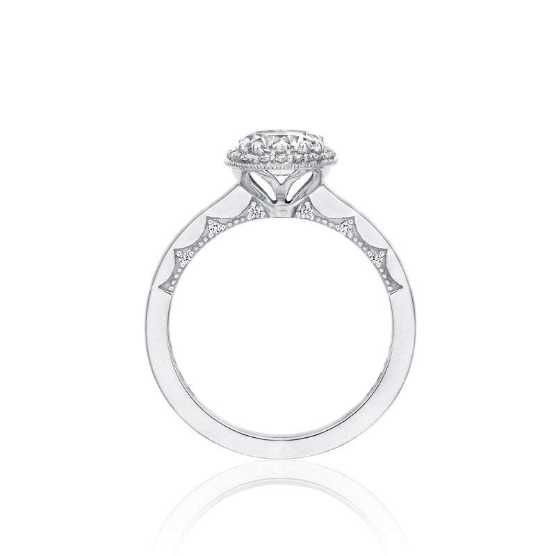 P101 RD 7 FW 14k white gold .15ct ring