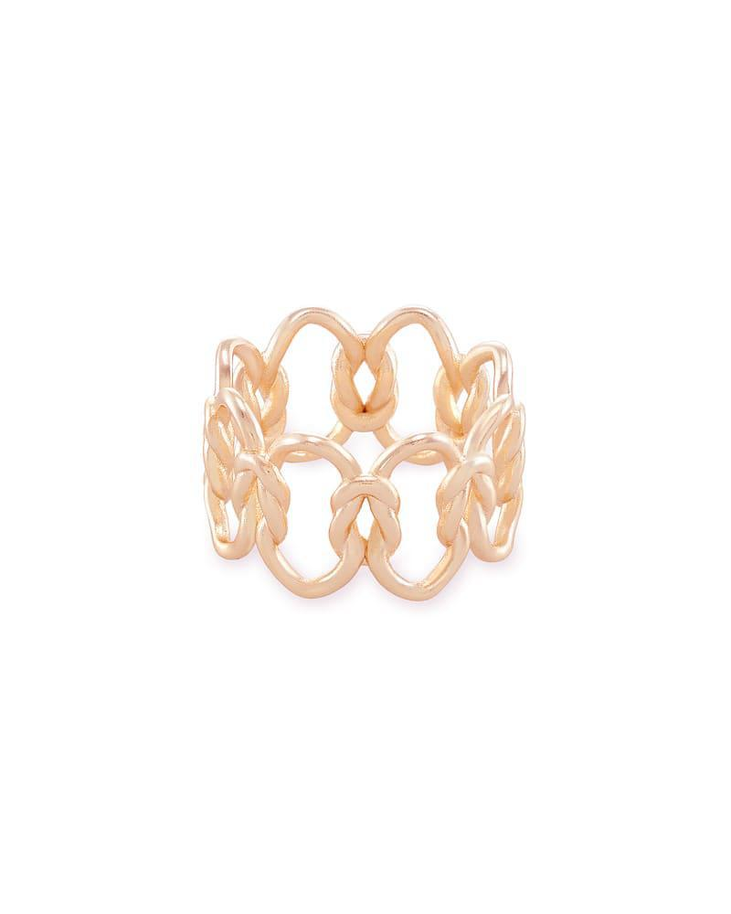 Kendra Scott Fallyn Ring SZ 8