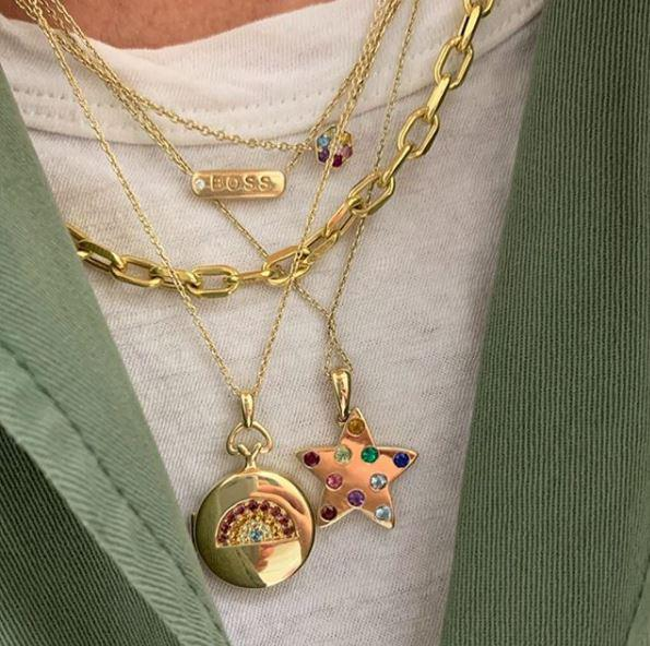 "My Story The Petunia ""mama"" Necklace"