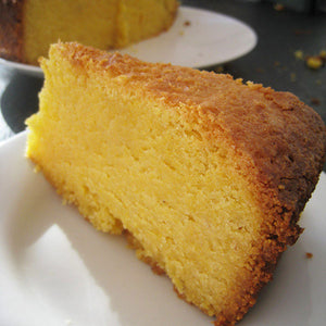 Orange, Almond and Polenta Cake