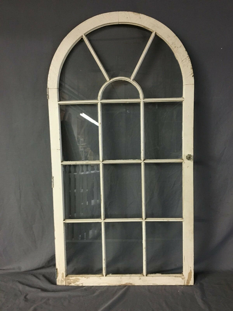 Vintage Arch Top 27 x 51 Window Casement Vtg 146-19B