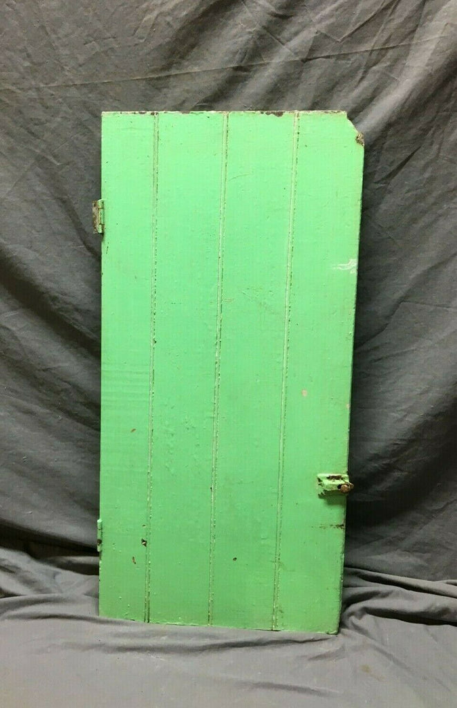 Antique Cupboard Pantry Kitchen Cabinet 16 x 32 Wainscot VTG 122-19B