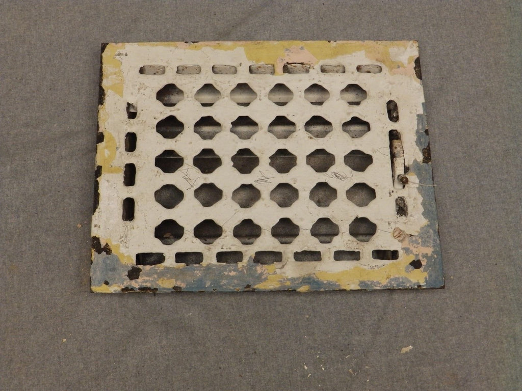 Vintage Steel Heat Grate Floor Register Vent Old Vtg Hardware 647-16
