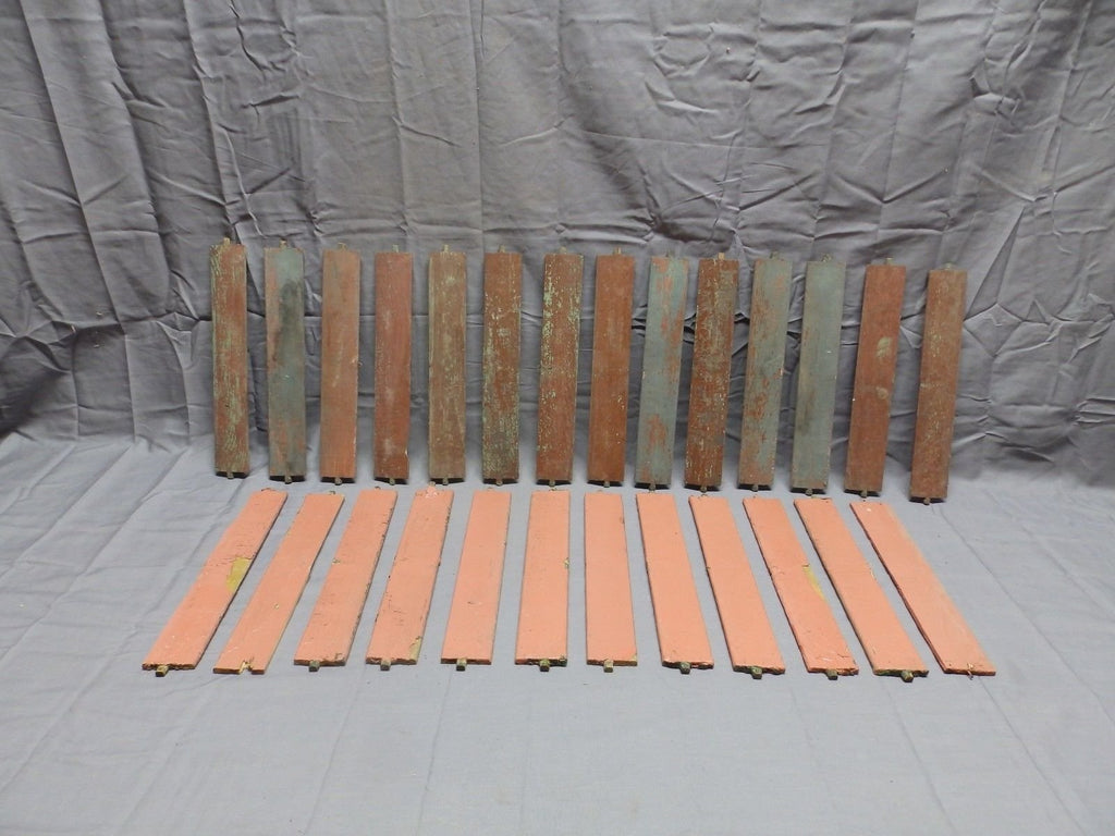 Vtg Shutter Slats Louvers Signs Arts Crafts Projects Repurpose 26 count 299-18P