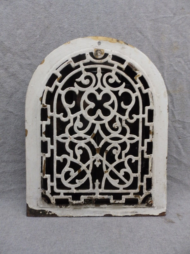 Antique Cast Iron Arch Top Dome Heat Grate Wall Register 9x12 203-17R