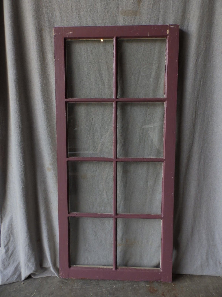 Antique Cabinet Casement Bookcase Cupboard Window Shabby Door  53X24 150-17P