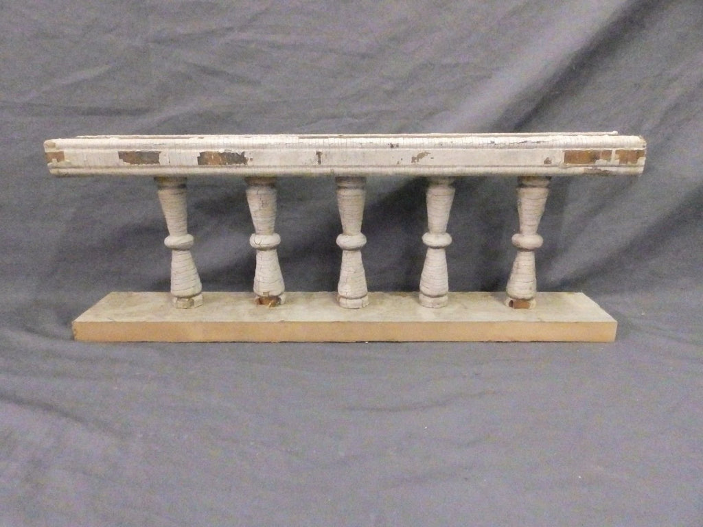 Small Antique Victorian Porch Gingerbread Spindle Span Architect 23x9 609-17P