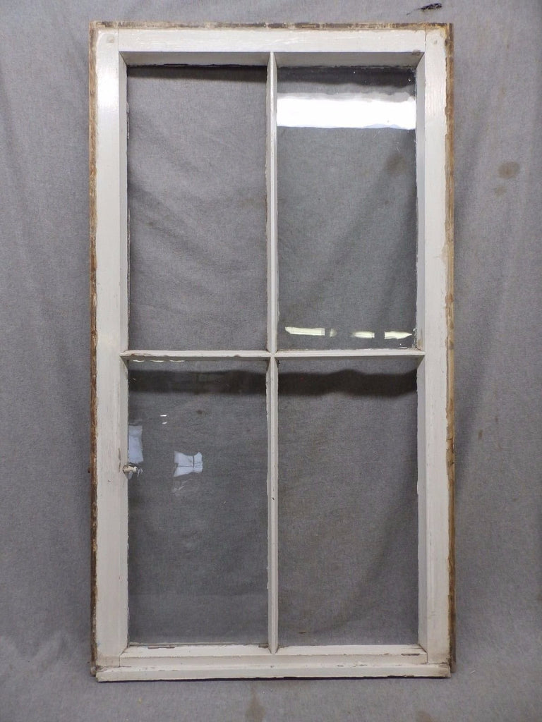 Antique Window Sash Cabinet Shabby Cottage Chic Cottage 447-17R