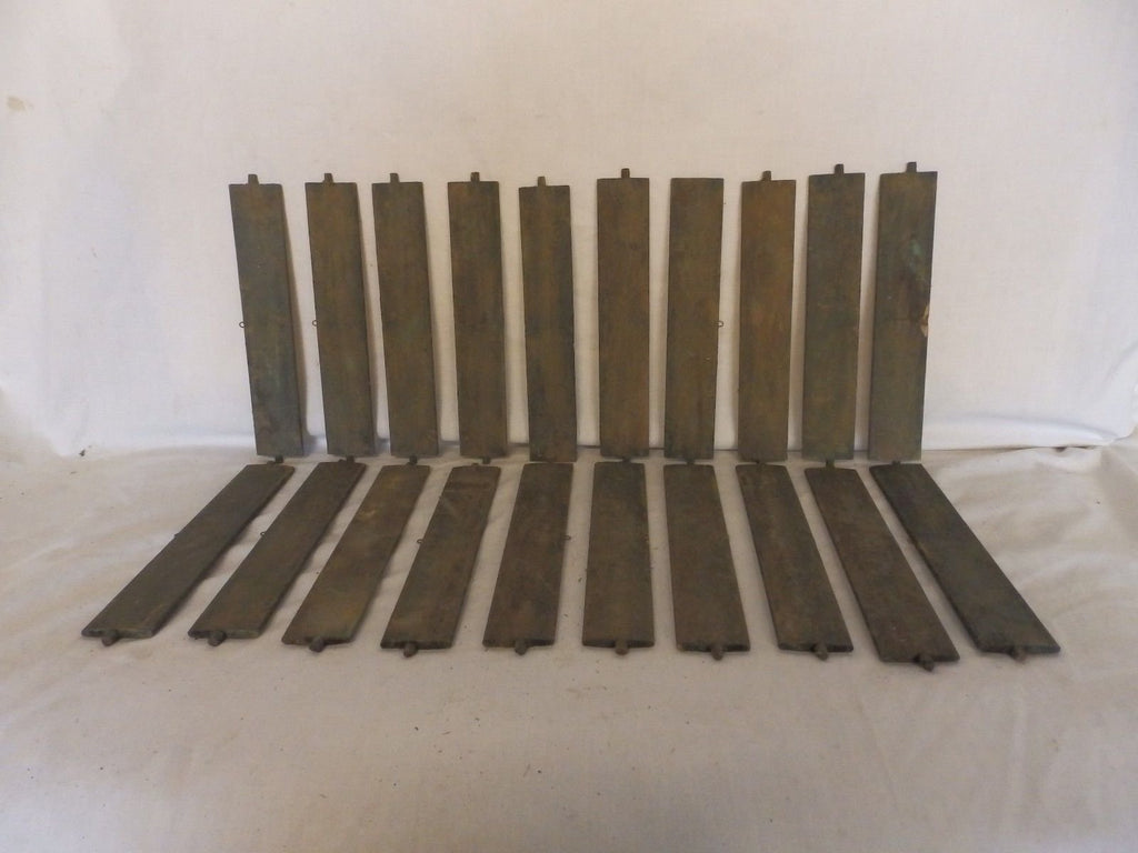 Vintage Shutter Slats Louvers Signs Arts Crafts Projects Repurpose 20 ct 179-18P