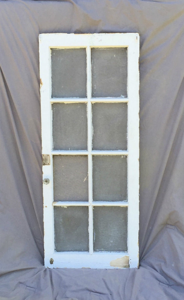 Antique Casement Window Cabinet Door Florentine Shabby Cottage Chic Vtg 956-16