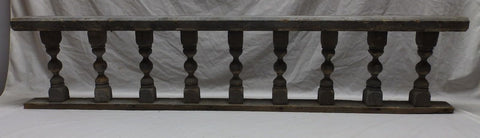 Antique Victorian Porch Gingerbread Spindle Span Grey Architectural 460-18P