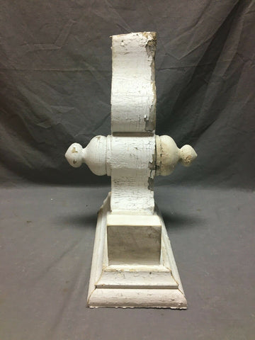 Single Antique White Roof bracket Final Corbel Shabby Vintage Chic Old 735-20B