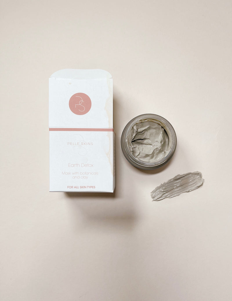 Earth Detox Mask with Botanicals and Clay