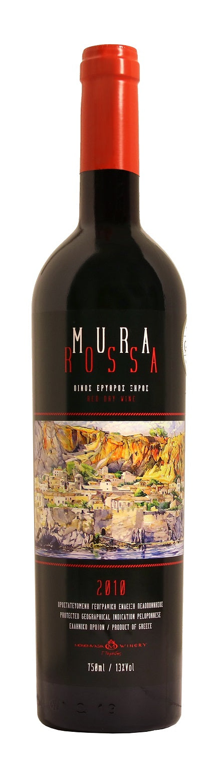 Mura Rossa 2010 Monemvasia Winery 750ml 13% Alc / Vol