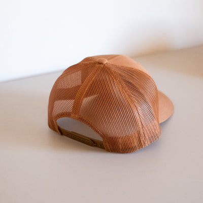 Patch Trucker Hat – Caramel